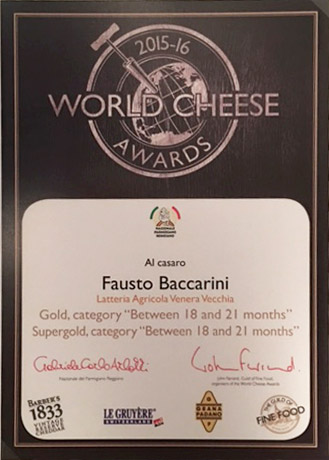 CASARO - World Cheese Awards 2015/16