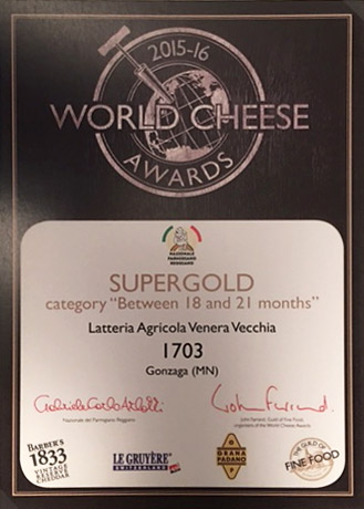 SUPERGOLD - World Cheese Awards 2015/16