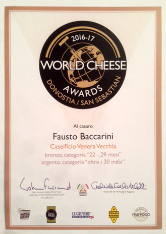 CASARO - World Cheese Awards 2016/17