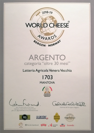 ARGENTO - World Cheese Awards 2018/19