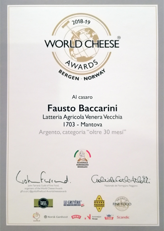 CASARO - World Cheese Awards 2018/19